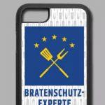 Handyhülle für iPhone 7/8 mit Motiv Bratenschutz-Experte